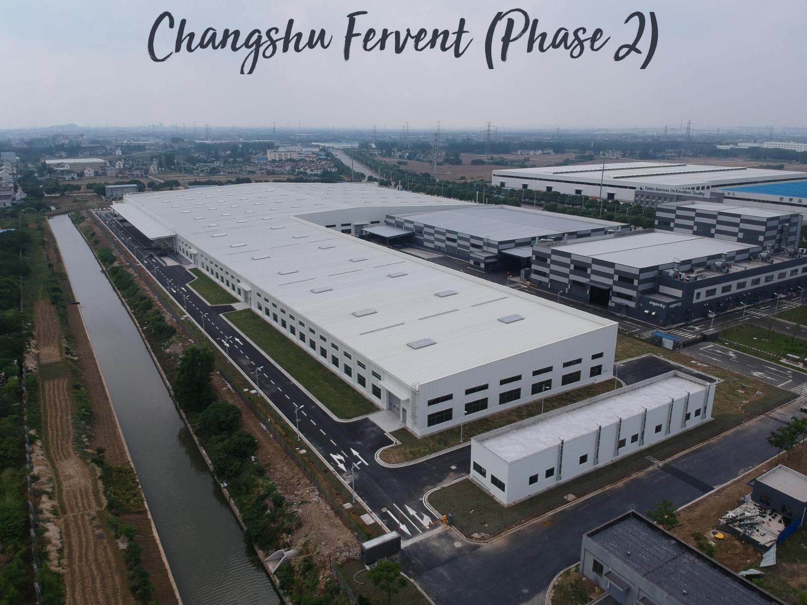 飞煌工业设施发展(苏州)有限公司 –  第二阶段